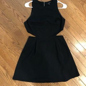 Forever 21 Black mini-dress with Cut-outs
